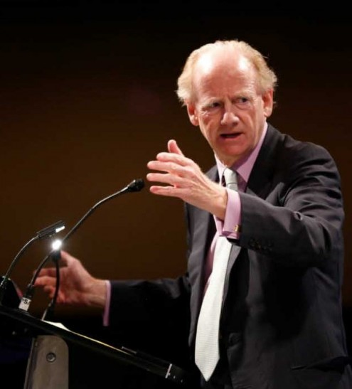 John Ralston Saul's book tour for The Comeback included an appearance at the UBC Longhouse on November 6, 2014.